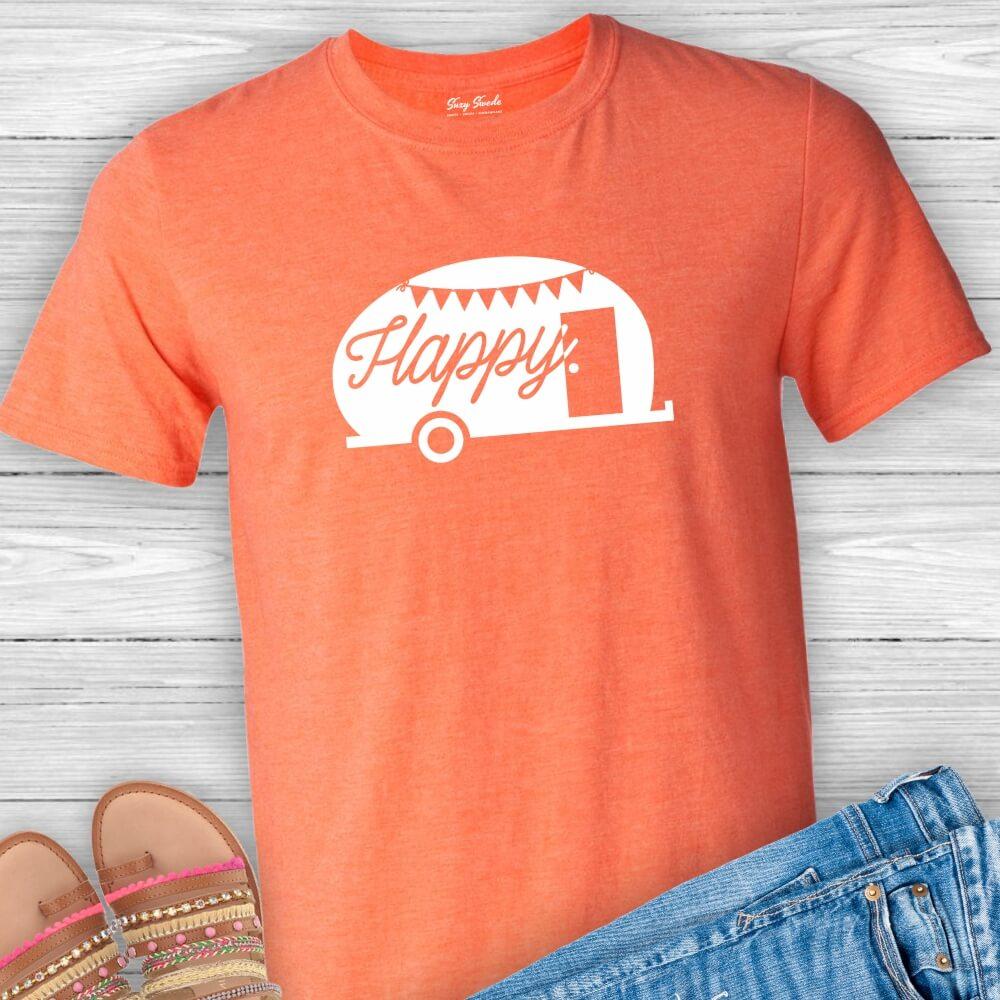 Happy-Camper-Unisex-Tshirt