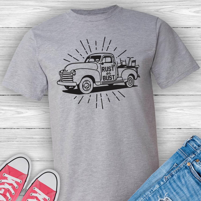 Rust-or-Bust-junkin-flea-market-tshirt