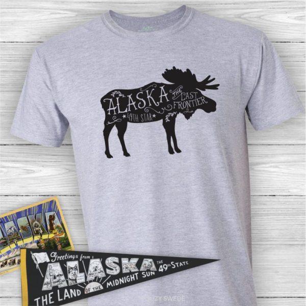Alaska Moose Tee Shirt
