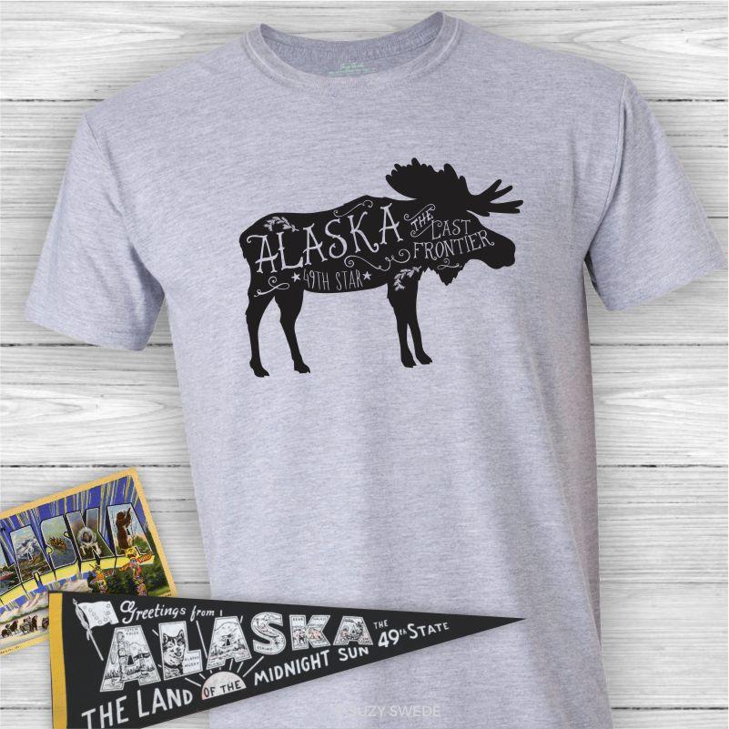Alaska-Moose-Tee-Shirt