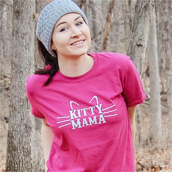 Kitty Mama Cat Mom Shirt