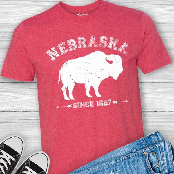 Nebraska Arrows T Shirt