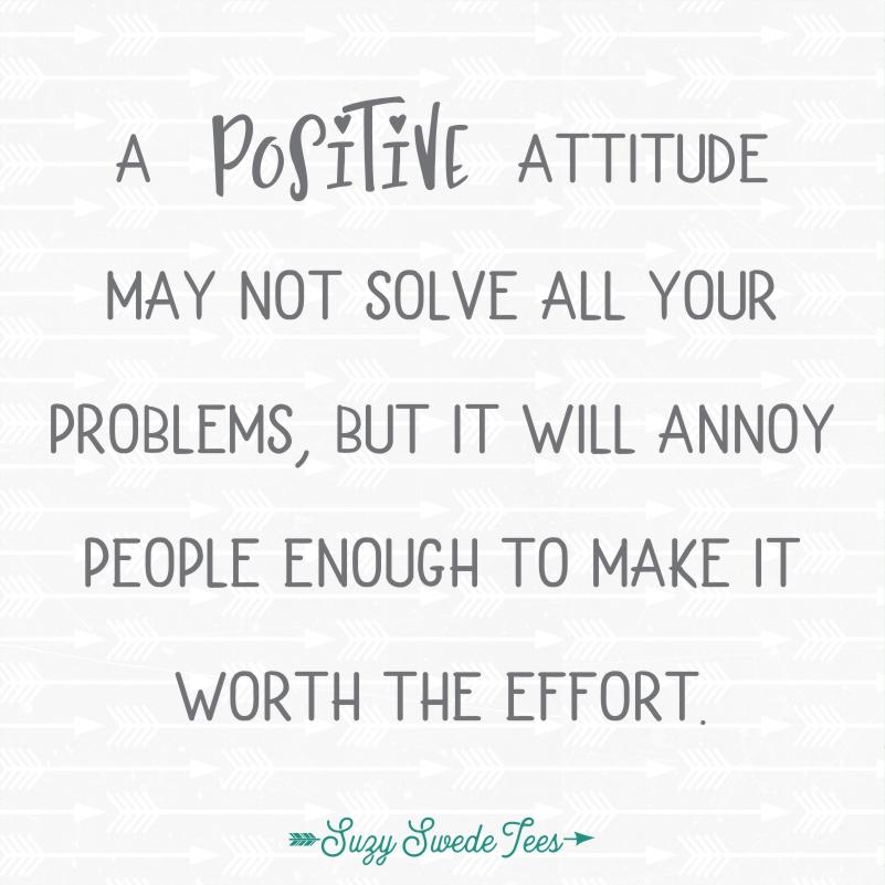 Positive Attitude Suzy Swede