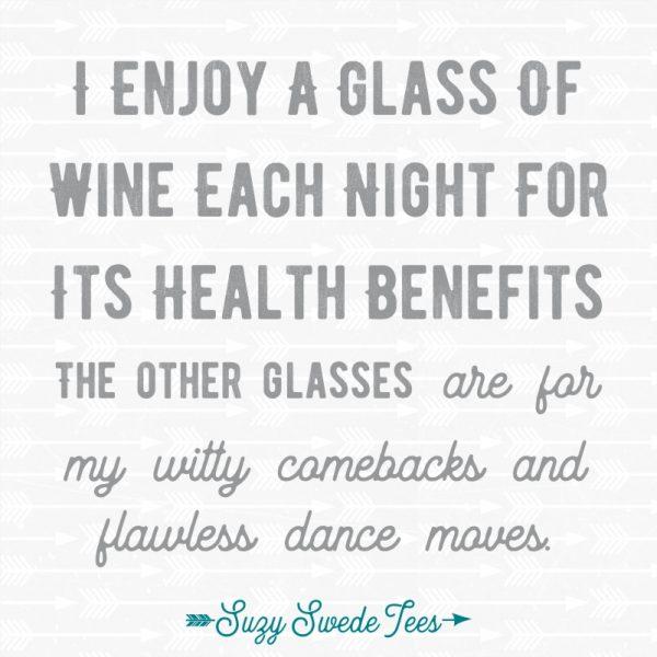 Suzy Swede Tees - Funny Wine T-shirts