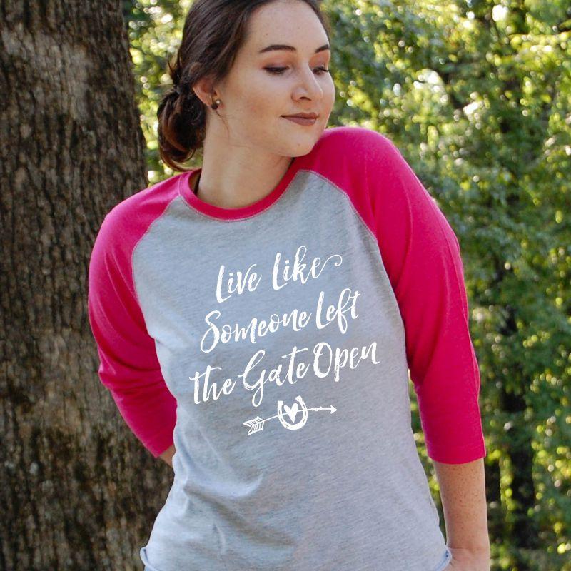 Live-Like-Gate-Open-Baseball-Tee