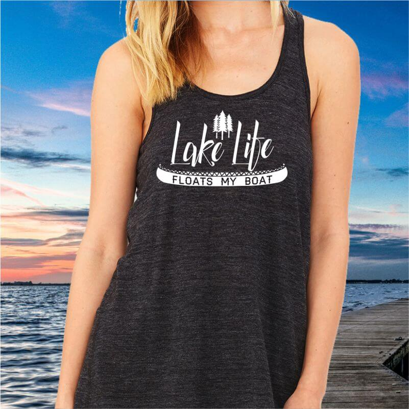 Lake-Life-Floats-My-Boat-Ladies-Racerback