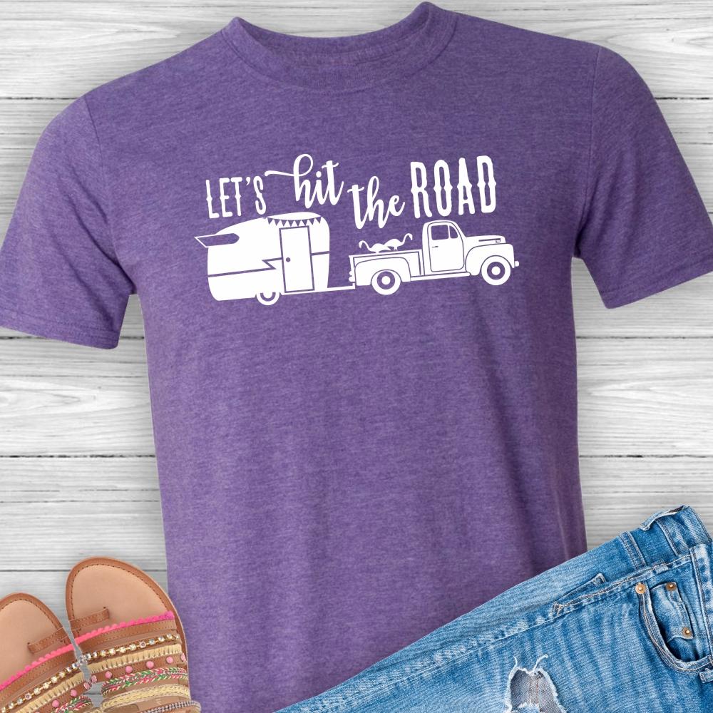 Lets-Hit-Road-Camper-Tshirt