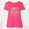 LifeJourney Vneck Pink