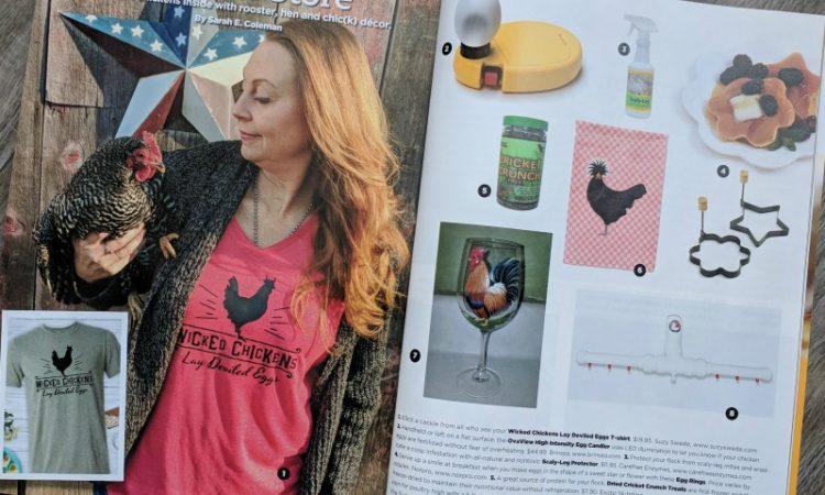 Suzy Swede Chickens Magazine