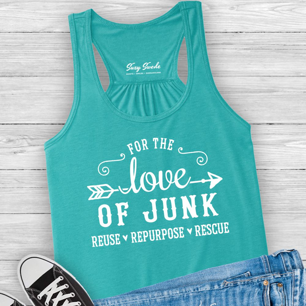 For the Love Junk Ladies Tank