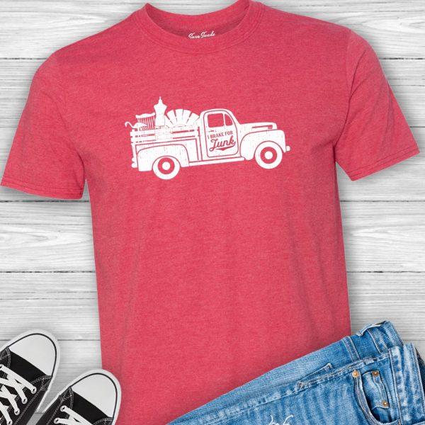 I Brake For Junk Junkin' Tee Shirt