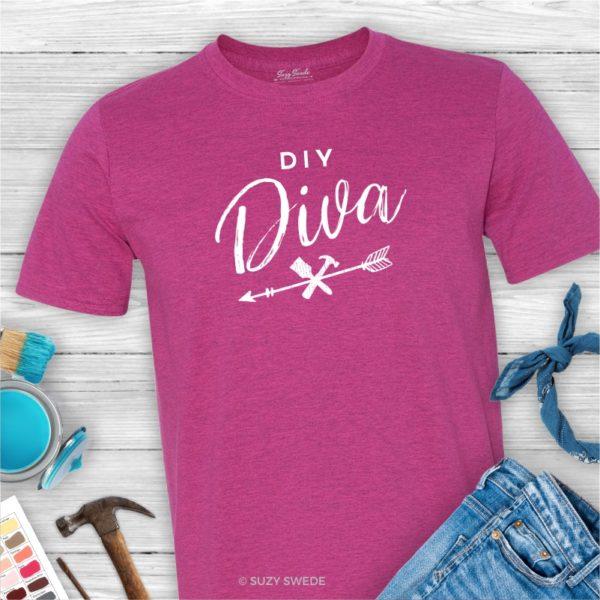 DIY Diva Furniture Rehabber Flea Market Flipper Graphic Tee