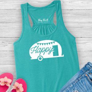 Happy Camper Racerback Tank