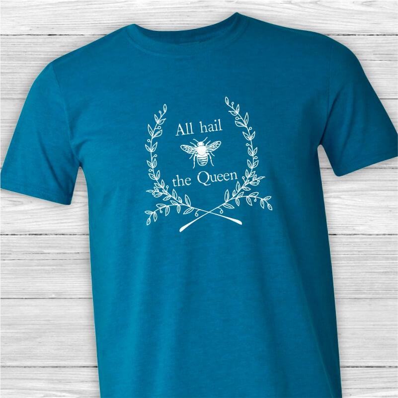 All Hail Queen-Unisex-Tee-Shirt