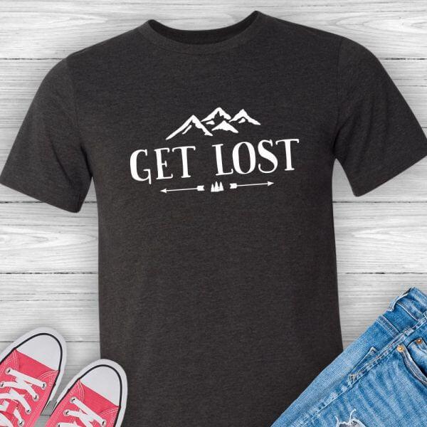 Get Lost Hiking Shirt
