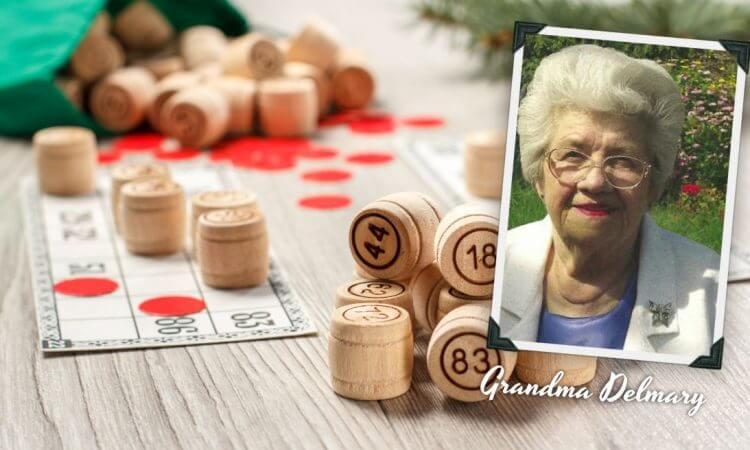 Christmas Bingo Grandma