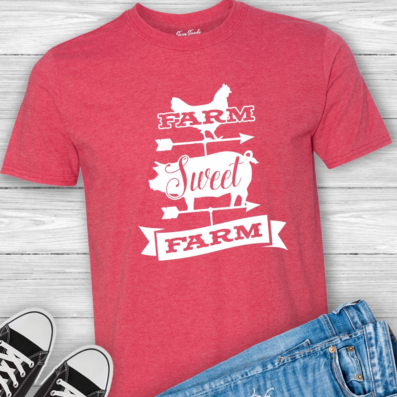 Farm-Sweet-Farm-Unisex-Tee-shirt