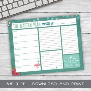 Weekly Planner Free Printable