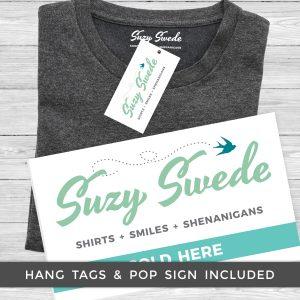 Hang Tag Pop Sign