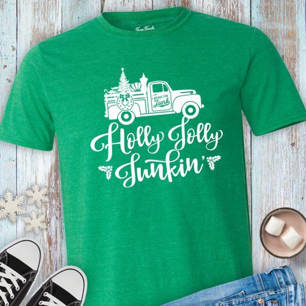Holly Jolly Junkin Tee Shirt