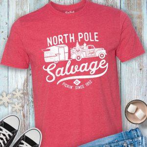 North Pole Salvage Junkin' Tee Shirt
