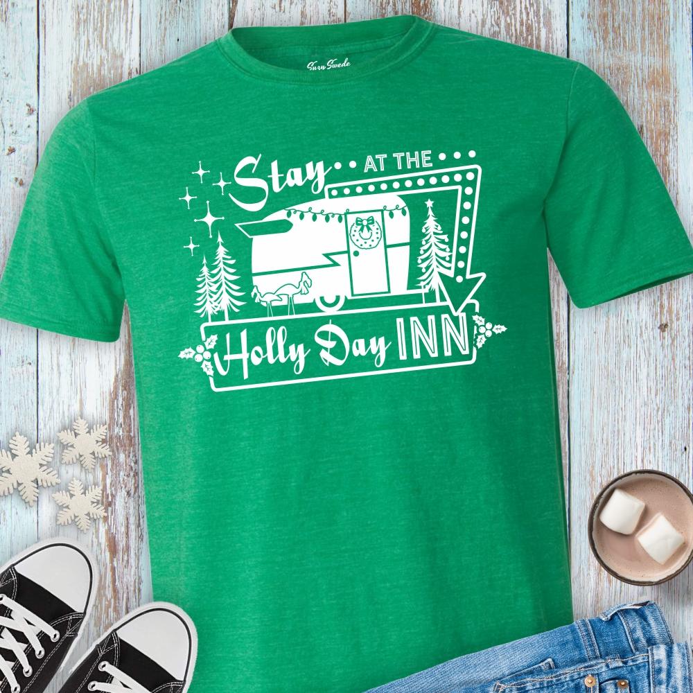 Stay-Holly-Day-Inn-Tee-Shirt