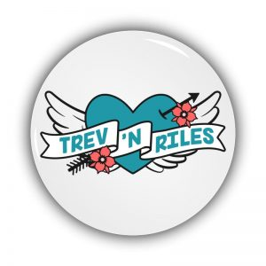 Pin Badges & Magnets by Trev N Riles
