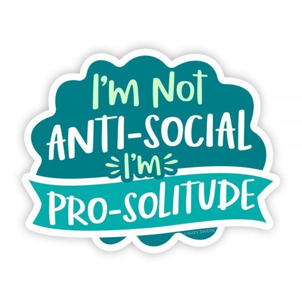 Not AntiSocial Pro Solitude