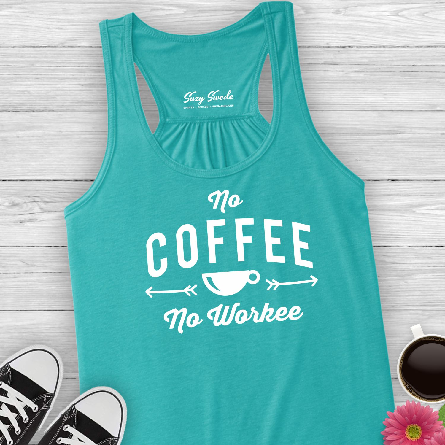 No-Coffee-No-Workee-Ladies-Tank