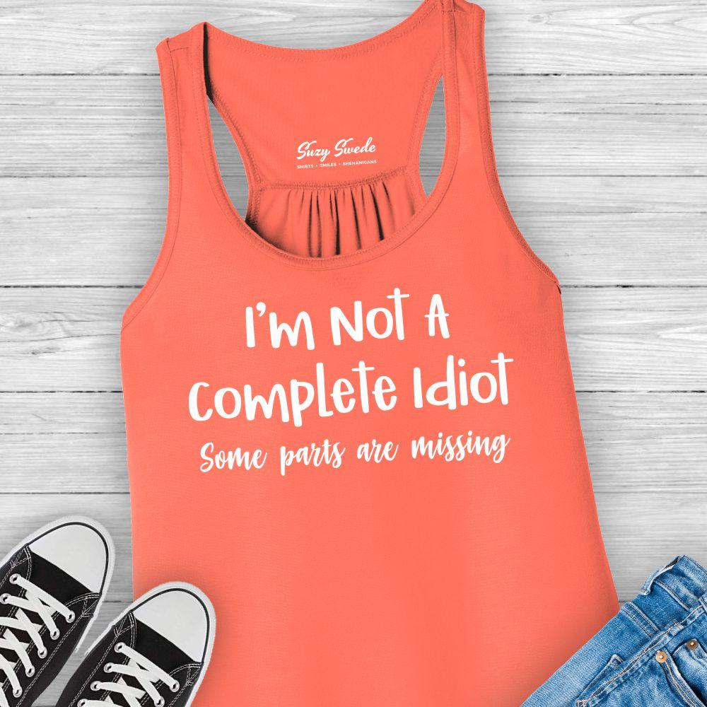 Not-Complete-Idiot-Ladies-Tank