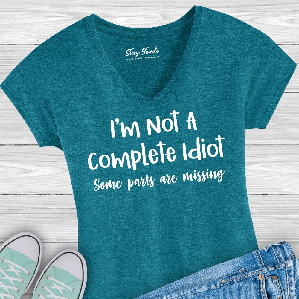 Not-Complete-Idiot-Ladies-Vneck