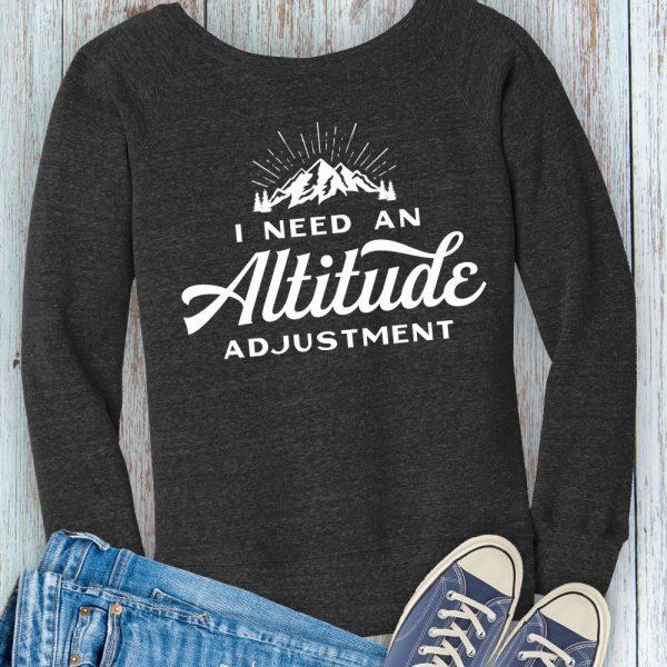 Altitude Adjustment Fleece Hiking Sweatshirt