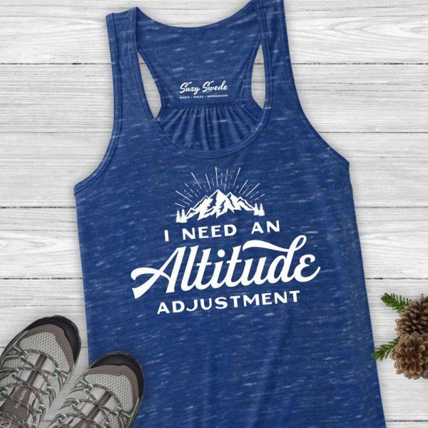 Altitude Adjustment Ladies Hiking Tank Top