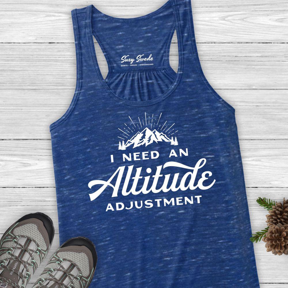 Altitude Adustment Ladies Hiking Tank