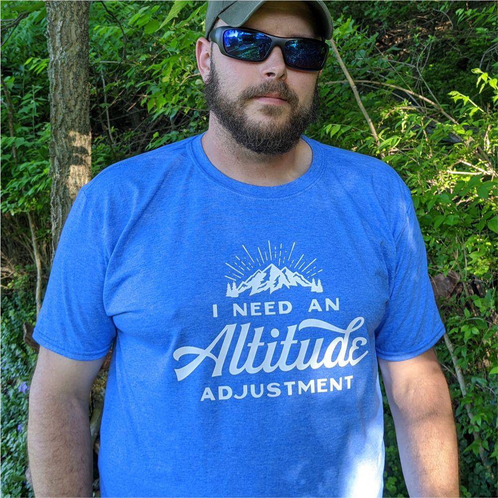 Altitude Adustment Tee Shirt