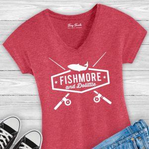 Fishmore & Dolittle Ladies Fishing Tee